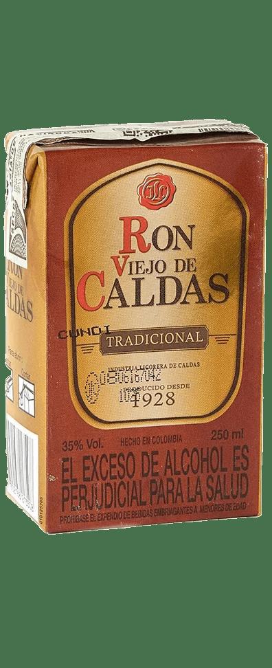 Ron Viejo de Caldas 375ml Correo de la noche 🥃 licores a domicilio 🧿 Bogota 24 Horas